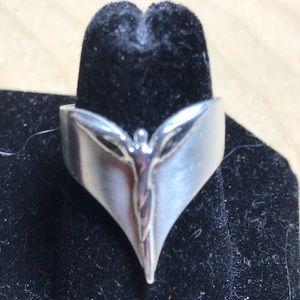 Beautiful Sterling Angel Ring